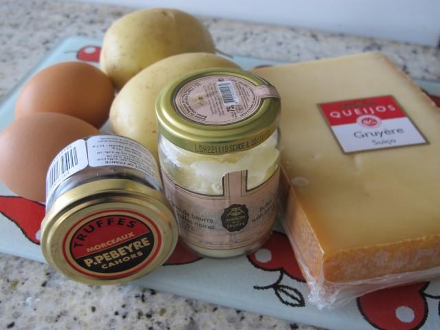 ingredientes batata rosti