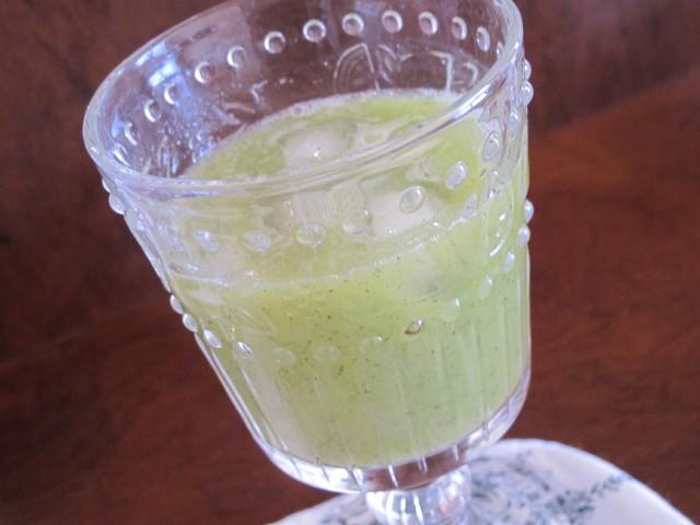 suco verde do pão ao caviar