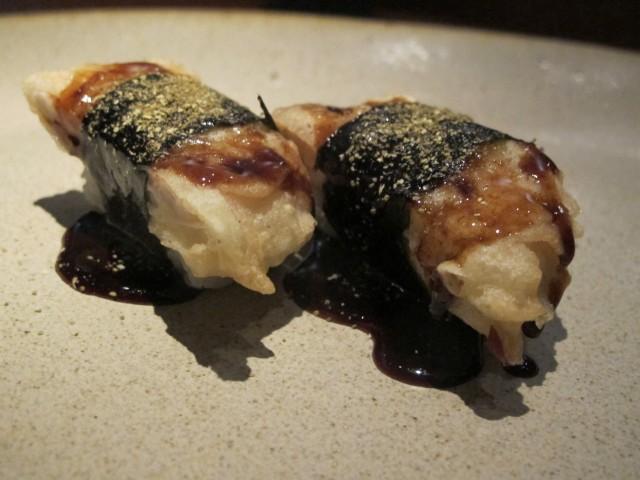 tempura de anchova aya