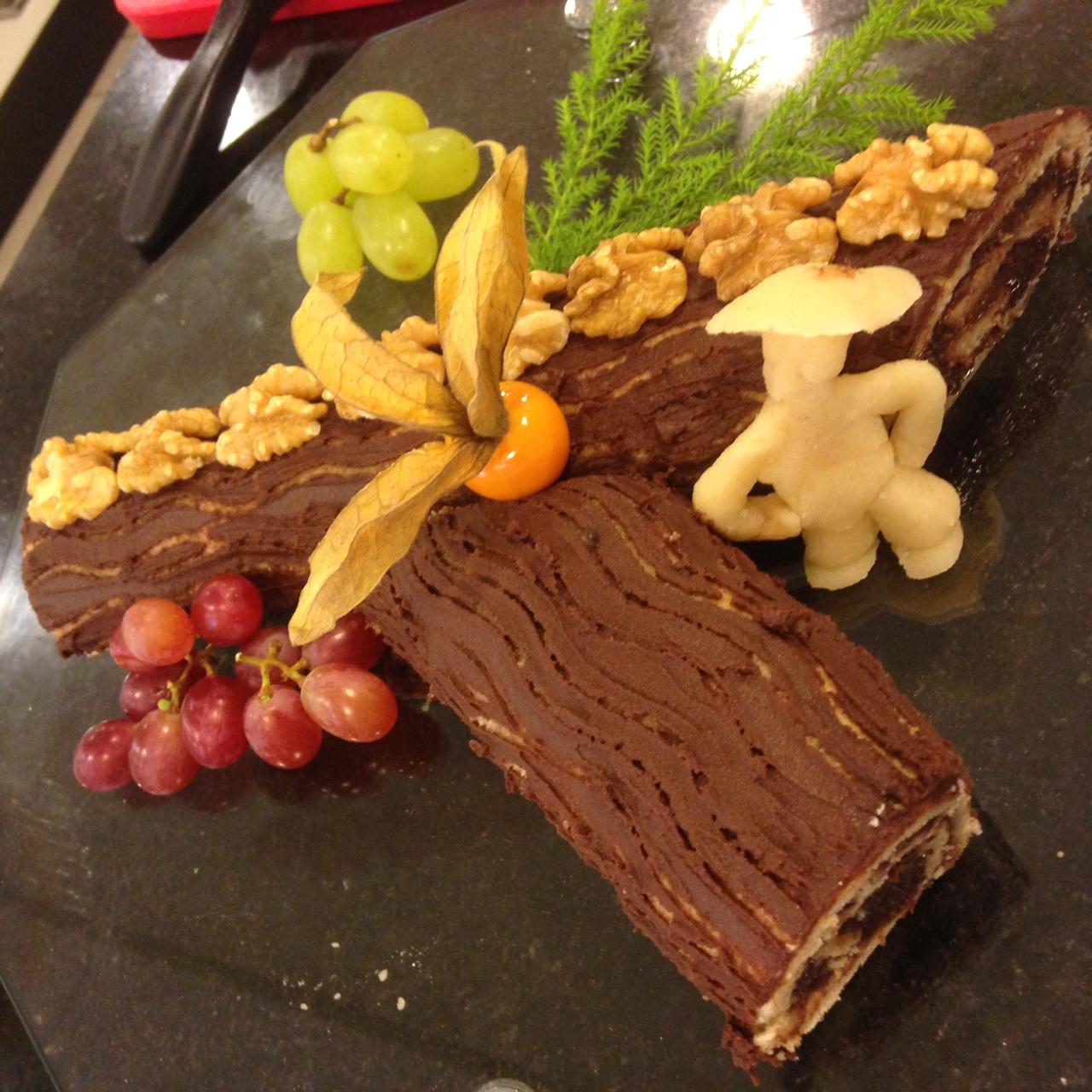 Tronco de Natal – Sobremesa para o natal de última hora