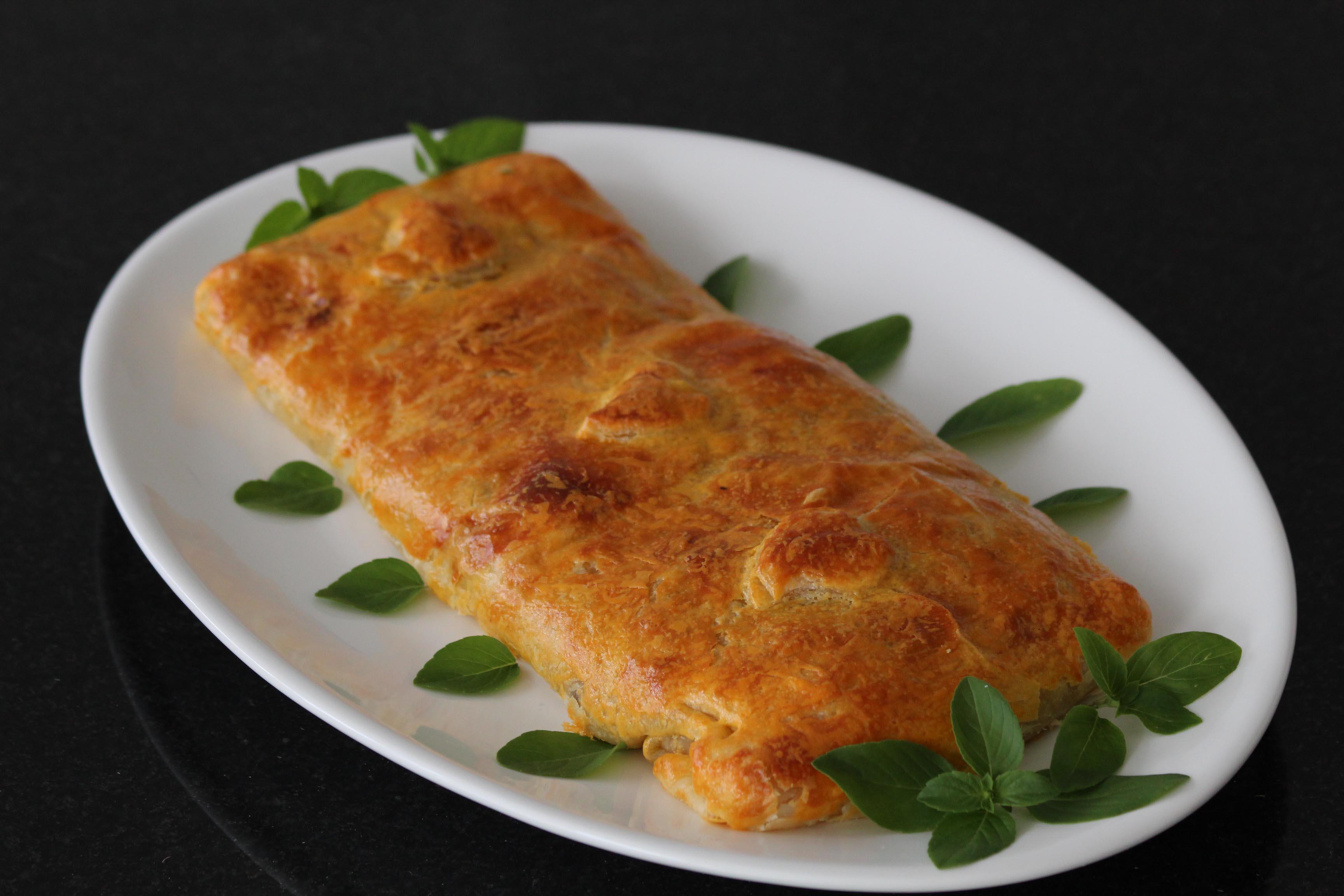 Decoração de Páscoa e receita de folhado de Bacalhau