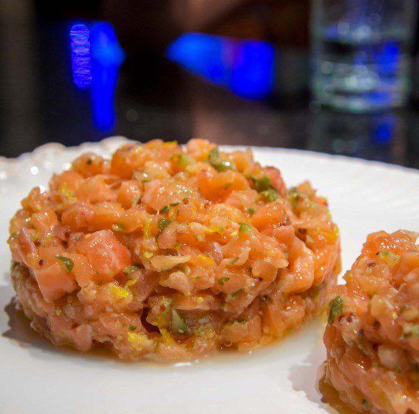 Tartare de salmão