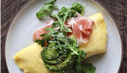 Como fazer o verdadeiro omelete.